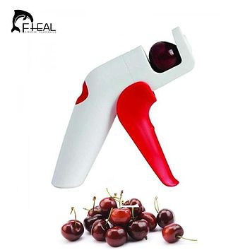 FHEAL Novelty Cherry Pitter Remover Machine New Fruit Nuclear Corer Kitchen Tools Kitchen Gadgets