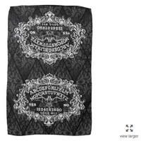 Ouija Board Kitchen Witch Towel