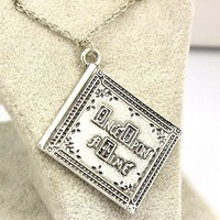Once Upon a Time Henry Book Necklace