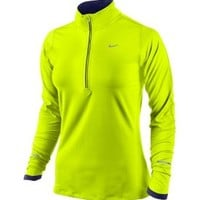 Nike Women's Element Half Zip Run Shirt
