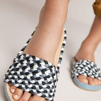 Soludos Braided Pool Slide Sandals