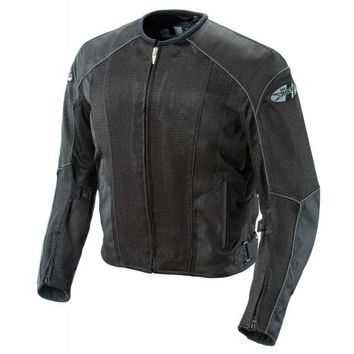 Joe Rocket Phoenix 5.0 Mens Black Mesh Motorcycle Jacket