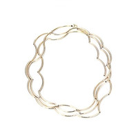 Circle & Square | Wave Necklace/Bracelet