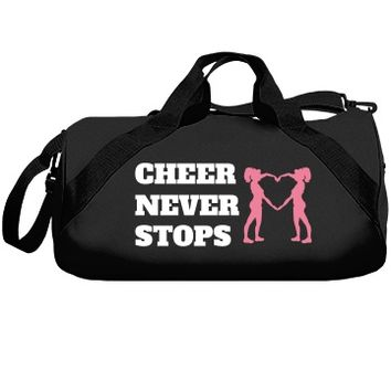 Cheer never stops: Creations Clothing Art