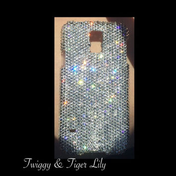Samsung Galaxy S5 Case Made With Swarovski Elements Crystals - AlsoAvailable for Galaxy S4 and S3