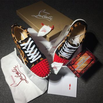 Cl Christian Louboutin Low Style #2080 Sneakers Fashion Shoes