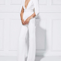 A Piece of Paradise White Jumpsuit