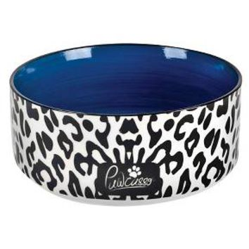 "Housewares International 6"" Pawcasso Pet Bowl with Cheetah Design : Target"
