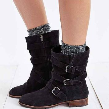 Dolce Vita Ferin Belted Suede Boot-