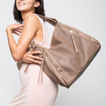 Perforated Double Handle Tote