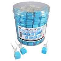 Cube Lollipops - Cotton Candy: 100-Piece Tub