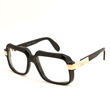 Cazal 607 Black Clear Sunglasses