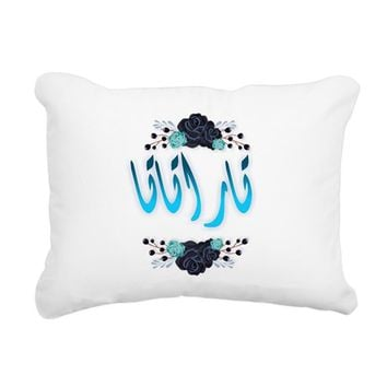 TARATATA RECTANGULAR CANVAS PILLOW