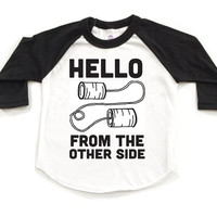 Adele Hello Tee - Black