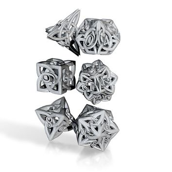 Celtic Dice Set by eondesigner on Shapeways