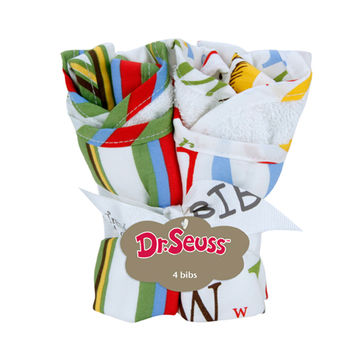 Dr. Seuss Abc - 4 pack Bib