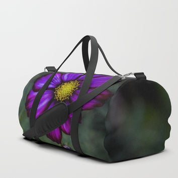 Floral autumn Duffle Bag by VanessaGF