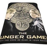 "The Hunger Games Movie Fleece polar""Katniss & Peeta"""