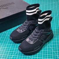 Puma Fenty X Rihanna Trainer High Black Socks Shoes - Best Online Sale