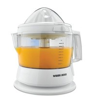 BLACK+DECKER CJ630 32-Ounce Electric Citrus Juicer, White