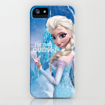 I'm the Queen iPhone & iPod Case by Ylenia Pizzetti