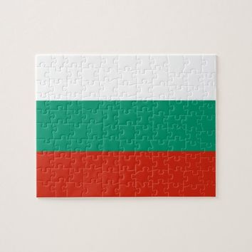 Puzzle with Flag of Bulgaria
