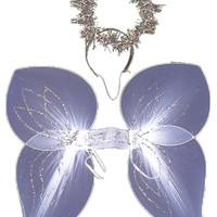 Angel Wing With Halo Set