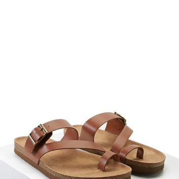 Buckled Toe-Loop Sandals