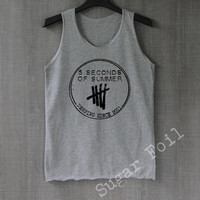 5 Seconds of Summer Shirt T Shirt Top Tank Top Tee Tunic Singlet - Size S M L