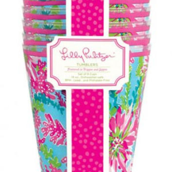 To-Go Tumbler Set in Trippin' and Sippin' by Lilly Pulitzer