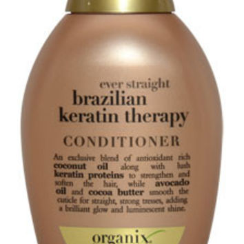 Ever Straight Brazilian Keratin Therapy Conditioner Conditioner Organix