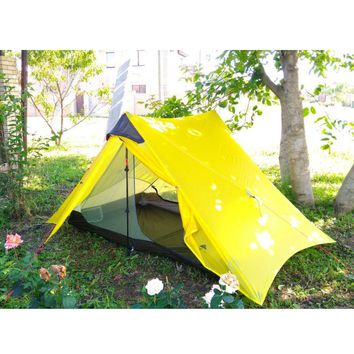 3f ul gear lightweight outdoor 2 person 1 Person ultralight camping tent non ploe barraca de acampamento barracas para camping
