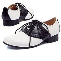 Womens 50s Saddle Shoes