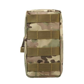 Outdoor Hunting Wasit Pack Airsoft Sports 600D 21X11.5CM MOLLE Military Utility Tactical Vest Waist Nylon Pouch Bag Equipment