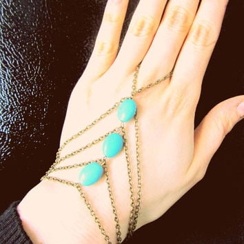 Shiny Stylish Awesome New Arrival Gift Hot Sale Great Deal Accessory Handcrafts Turquoise Bracelet [6586246855]