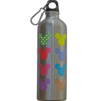 Disney - Colorful Neon Mickey Mouse Water Bottle