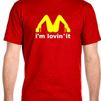 Lovin It, College Funny, Men's T-Shirt