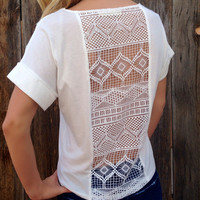 Whimsical Crochet Top - FINAL SALE