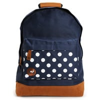 Mi-Pac Navy & Polka Dot Backpack