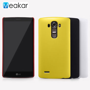 Grind arenaceous Hard Plastic shell 5.5For LG G4 Case For LG G4 H818 H815 H810 F500 Cell Phone Back Cover Case