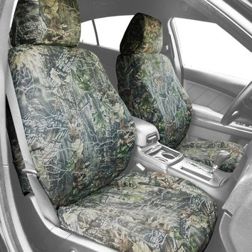 CalTrend Front Sport Buckets Custom Fit Seat Cover for Select Toyota RAV4 Models - Camouflage (Hunter Camouflage)