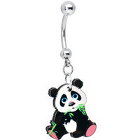 Adorable Panda Belly Ring | Body Candy Body Jewelry