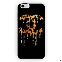 Chanel Drip Leopard Design Cover For iPhone 6 / 6 Plus Case