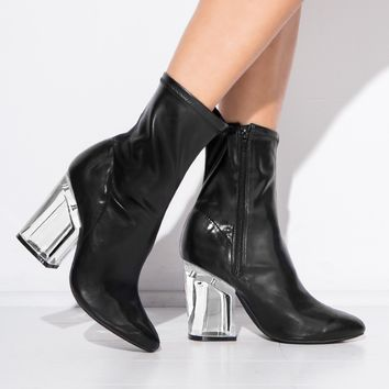 Jeffrey Campbell Leather Figment Boots