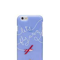 Kate Spade Let's Fly Away Iphone 6 Case Frosted ONE