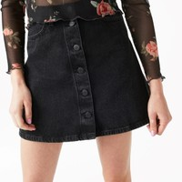 Monki | Skirts | Mini A-line denim skirt