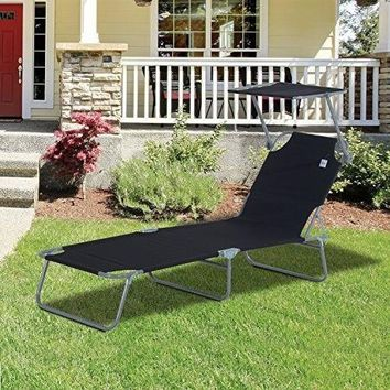 Sun Bed Chairs Garden Lounger Recliner Reclining Folding Relaxer Beach Chair