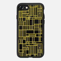 Map Outline Yellow Transparent iPhone 7 Case by Project M | Casetify