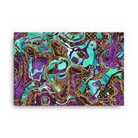 Pattern LXXVIII - Digital Print - Canvas - Matte finish - Fade resistant