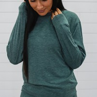 Simply Classic Sweatshirt - Forest Green
